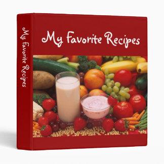 Cookbook Binder