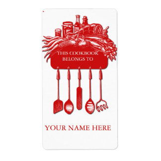 Cookbook Collection Bookplate ..