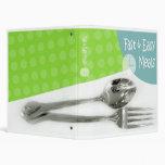 Cookbook Cover Binders