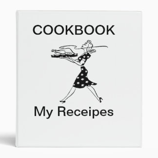 Cookbook Receipes Avery Binder
