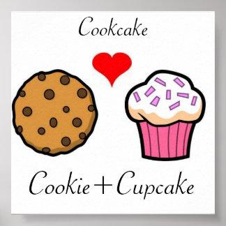 Cookcake Poster