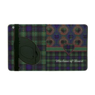 Cooke clan Plaid Scottish kilt tartan iPad Cases