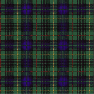 Cooke clan Plaid Scottish kilt tartan Statuette
