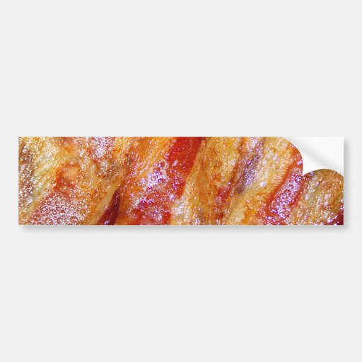 Cooked Bacon Bumper Sticker