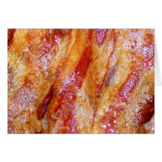 Cooked Bacon Card