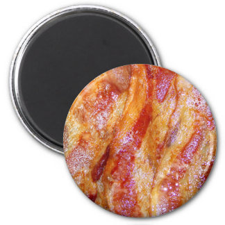Cooked Bacon Fridge Magnets