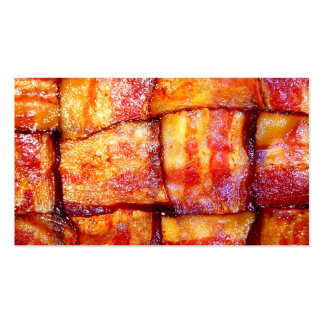 Cooked Bacon Weave Business Card