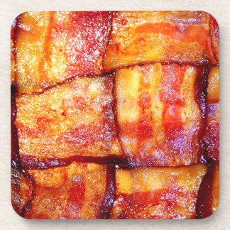 Cooked Bacon Weave Coaster