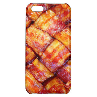 Cooked Bacon Weave iPhone 5C Cases