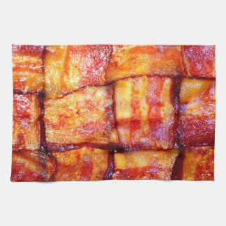 Cooked Bacon Weave Towel