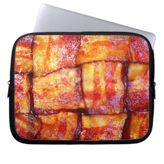 Cooked Bacon Weave Computer Sleeve