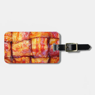 Cooked Bacon Weave Luggage Tag