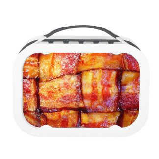 Cooked Bacon Weave Lunchboxes