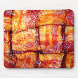 Cooked Bacon Weave Mouse Pad