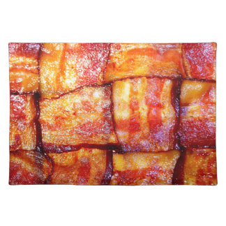 Cooked Bacon Weave Place Mat