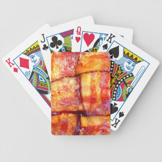 Cooked Bacon Weave Playing Cards