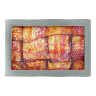 Cooked Bacon Weave Rectangular Belt Buckle