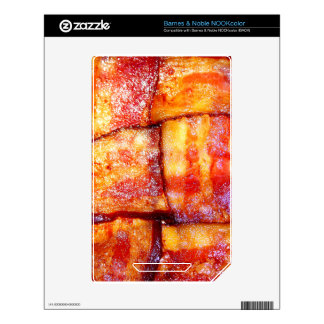 Cooked Bacon Weave Decals For The NOOK Color