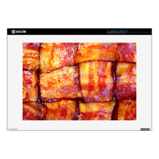 "Cooked Bacon Weave 15"" Laptop Skins"