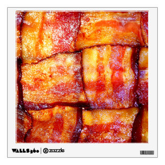 Cooked Bacon Weave Wall Sticker
