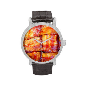 Cooked Bacon Weave Wrist Watches