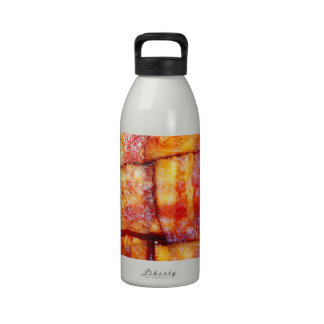Cooked Bacon Weave Reusable Water Bottle