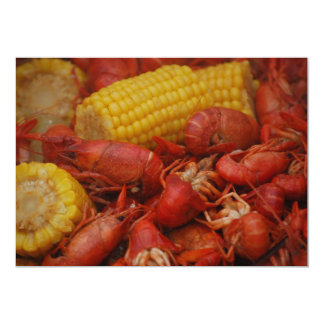 Cooked Crawfish Card