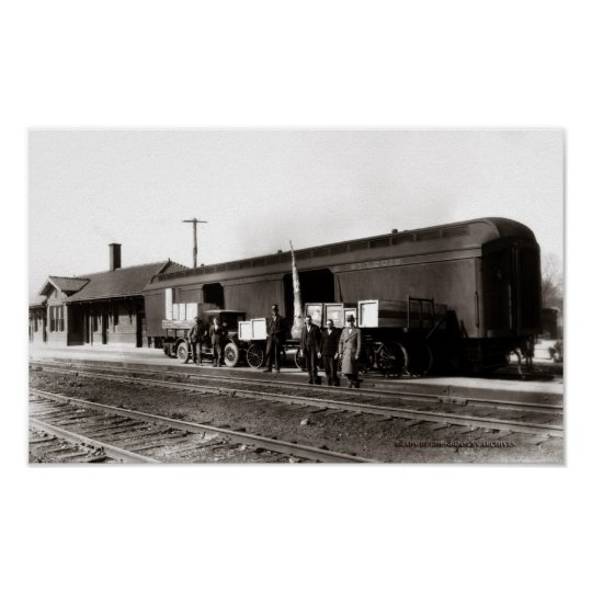 Cookeville Train Station Circi 1930 Poster