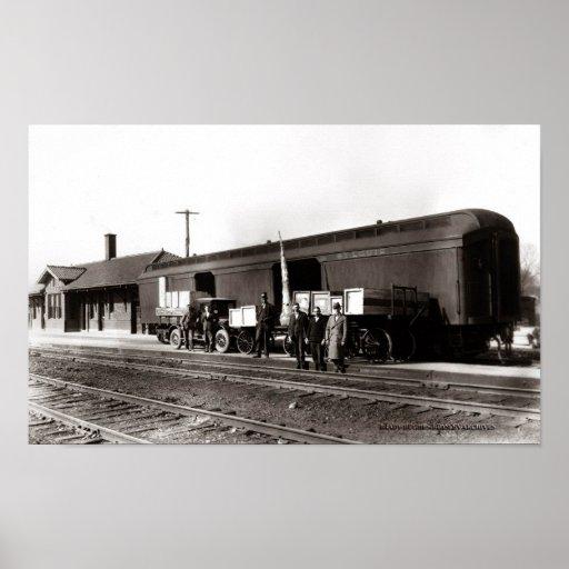 Cookeville Train Station Circi 1930 Print