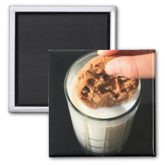 Cookie and a Glass of Milk Magnet