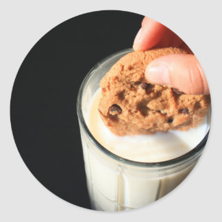 Cookie and a Glass of Milk Sticker