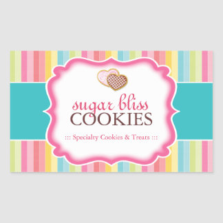 Cookie and Dessert - Packaging Stickers