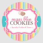 Cookie and Dessert - Packaging Stickers Sticker