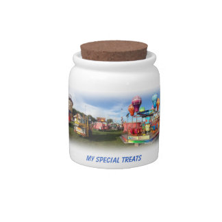 Cookie and Treats Storage Jar Candy Jar