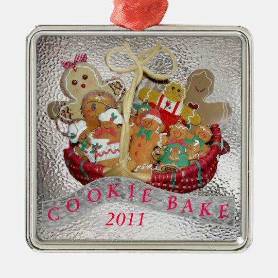 Cookie Bake Metal Ornament | Zazzle.com