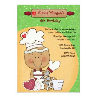Cookie Baker Invitation