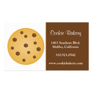 Cookie Bakery Business Cards