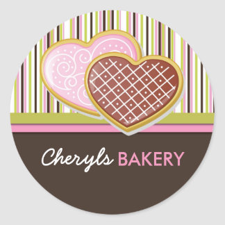 Cookie Bakery Packaging Stickers