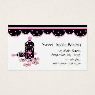 Cookie Baking Business Card