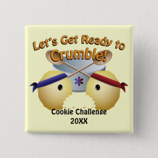 Cookie Baking Competition Button