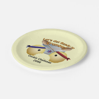 Cookie Baking Competition Paper Plate