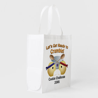 Cookie Baking Competition Reusable Grocery Bag
