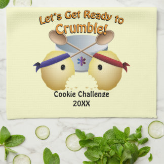 Cookie Baking Competition Towel