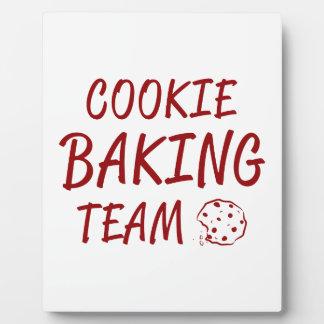 Cookie Baking Team 2 Plaque