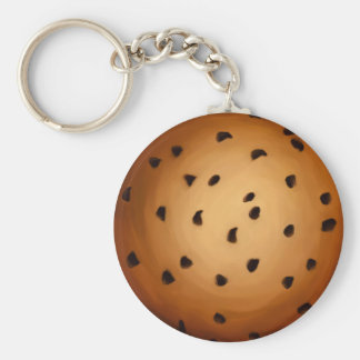 Cookie Basic Round Button Keychain