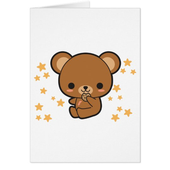 Cookie Bear Card