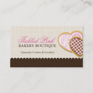Home cookie business cards zazzle cookie business cards colourmoves