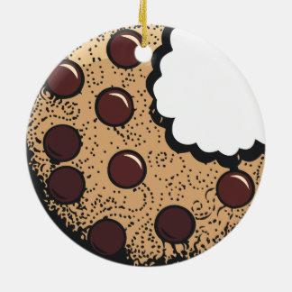 Cookie Ceramic Ornament
