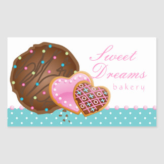 Cookie Chocolate Donut Bakery Sticker Icing Dots