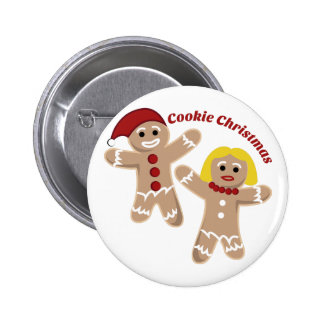 Cookie Christmas Buttons